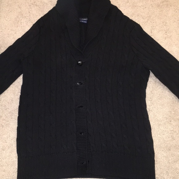 Ralph Lauren Sweaters Womens Cable Knit Button Sweater Poshmark
